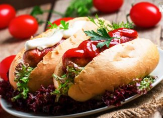 How to Make Veg Hot Dog at Home