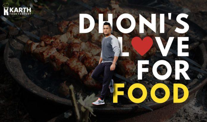 Dhoni Favorite Food