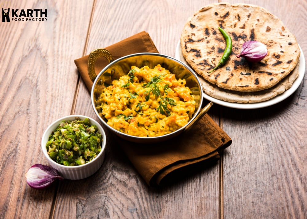 Pithla Bhakri- Karth Food Factory