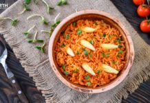 Bring the Mexico city home with the authentic Mexican rice recipe