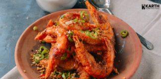 Crispy Pepper Prawn- Karth Food Factory