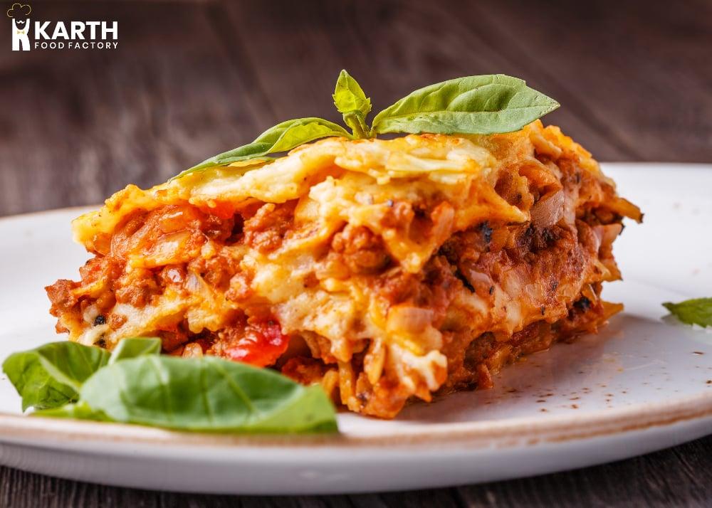 Lasagna -Karth Food Factory