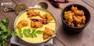 Punjabi Kadhi Pakora-Karth Food Factory