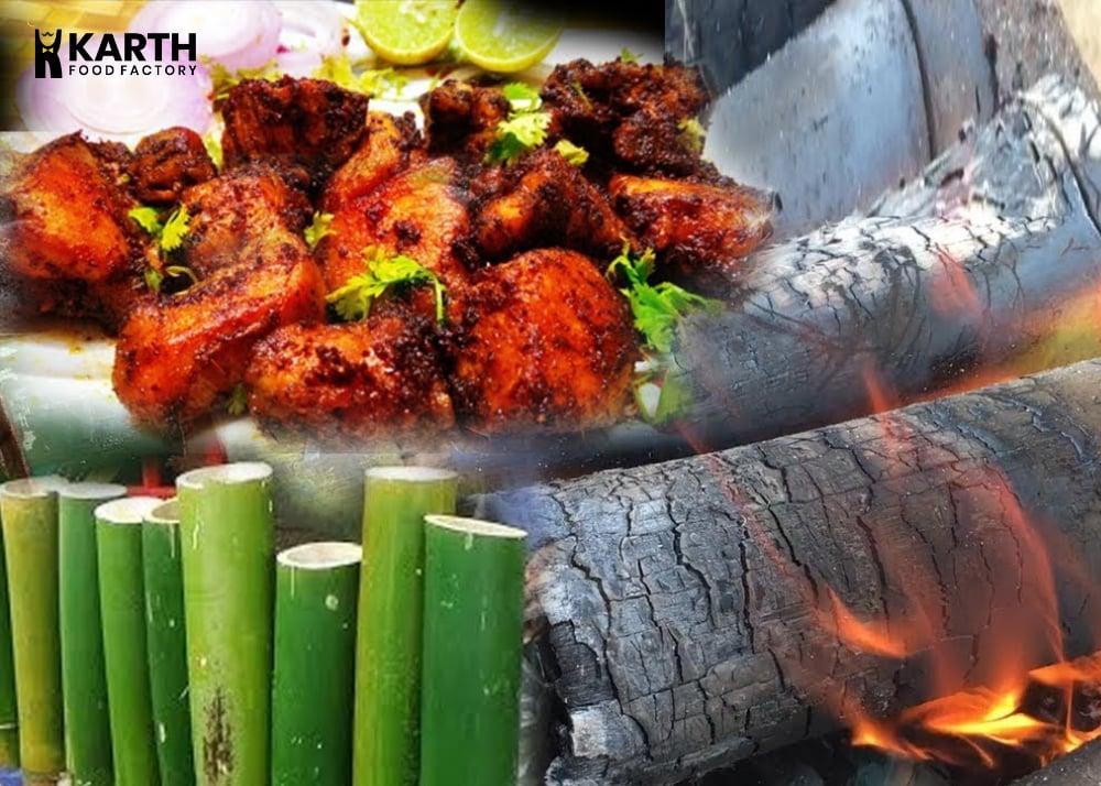 Bamboo Chicken- Karth Food Factory