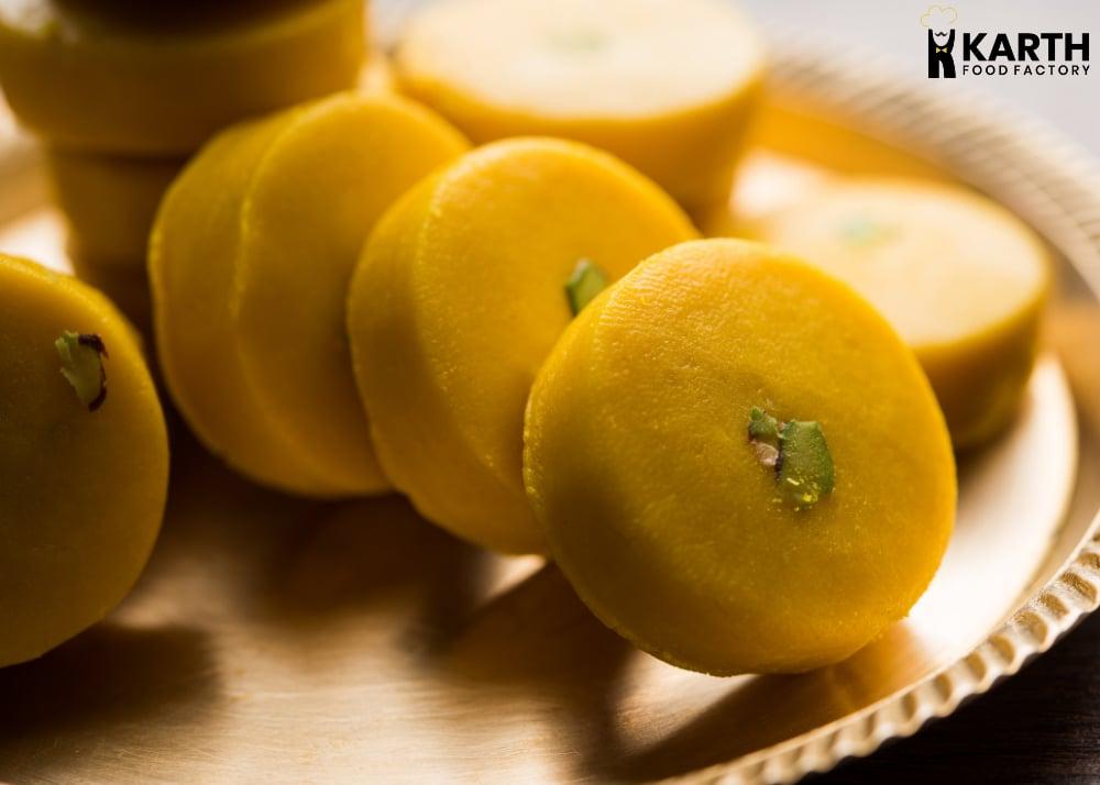 Kesar Pedha - Karth Food Factory