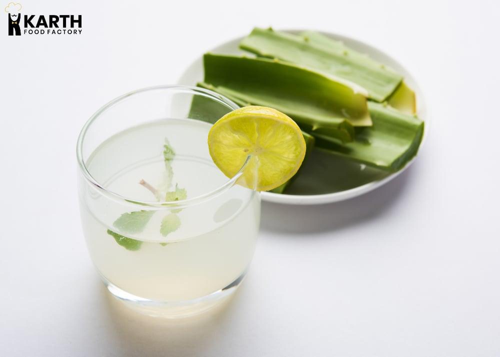 Aloe Vera Juice-Karth Food Factory