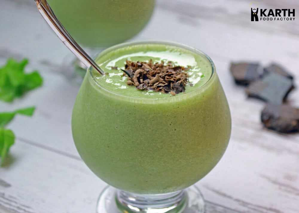 Mint Chocolate Green Smoothie-Karth Food Factory