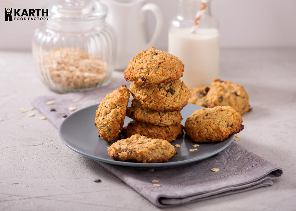 Oats Cookie Dough With Chia-Karth Food Factory