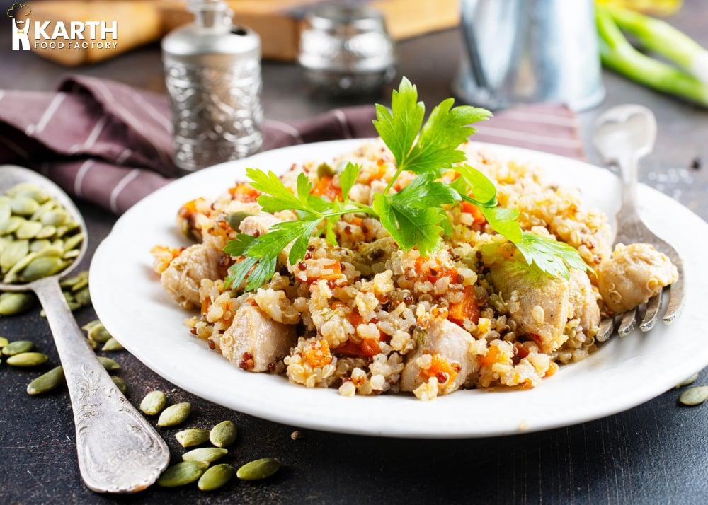 Vegan Coconut Rice Pudding-Karth Food Factory