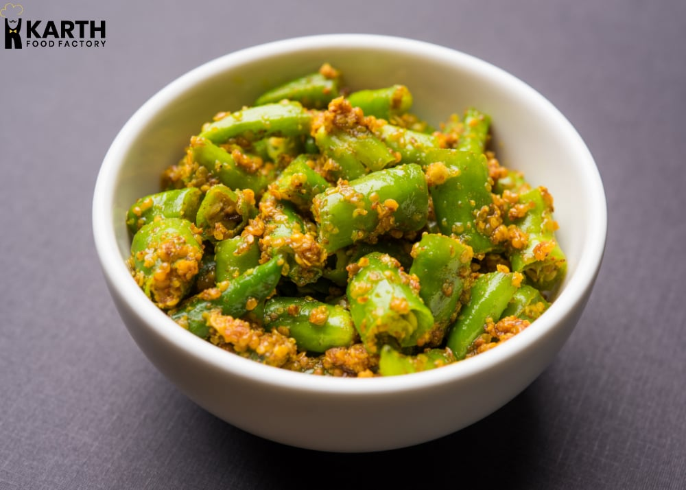 Green Chilli-Pickle-Karth-Food-Factory